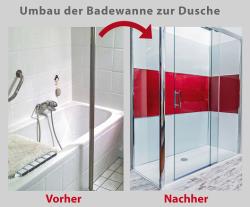 Bequemer und sicherer Duschen
