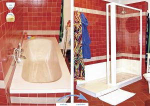 Badewanne zur Dusche machen